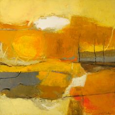 Joyce McCarten - Linden. oil painting #Abstract