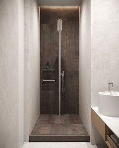 Guest bathroom #guestbathroom #modernbathroom #minimalisticbathroom #ideasforbathroom #minimalism #minimalisticarchitecture #minimalisticinterior #architecture #modernarchitecture #design #minimalisticdesign #bathroom Laundry In Bathroom, Toilet, Minimalism, Bathtub, Design, Art, Standing Bath, Art Background, Flush Toilet