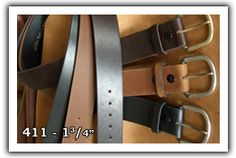 """Marc Wolf Ltd., Milwaukee, Casual Belts, Casual Belts Price Sheets, Fine Leather Belts, Made in America, Marc Wolf Belts, Marc Wolf Ltd. Leather Belts, solid piece top grain, oil tanned harness leather, indestructible belt, quality belts, sizes through 80"""" waists"""