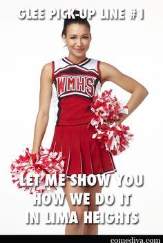 Cheerleader pick up lines