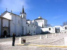 Outside the Pousada de Dom Joao IV - VIla Vicosa. Formerly a 16th Century Convent, the luxury hotel was once the favorite royal residence of the House of Braganca