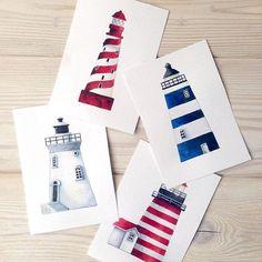 Люблю маяки #waterblog #illustration #watercolor #drawing #сейчас_рисую #painting #art #artist #artwork #иллюстрация #акварель #postcard #postcards #открытка #открытки #маяк #lighthouse #navy #nautical #art_stupenka #vsco #vscorussia #topcreator #inspiring_watercolors