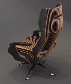 Concept of a parametric chair