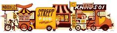 Street Food / Smag & Behag, ny nordisk, new Nordic, street food, gademad, gadekøkken, madvogn