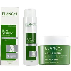 Elancyl Slim Design Caffeine Complex 3D - 200ml + Elancyl Cellu Slim Night 250ml. Μάθετε περισσότερα ΕΔΩ: https://www.pharm24.gr/index.php?main_page=product_info&products_id=11843