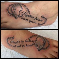 Best Friend Sister Tattoos
