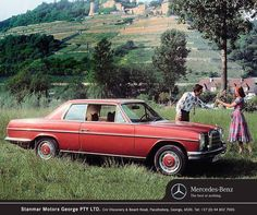 #ThrowBackThursday: A legend in the upper mid-range, some 1.9 million models of the Stroke 8 were built and are one of the popular classic Mercedes-Benz models today! #TeamStanmar #MercedesBenz