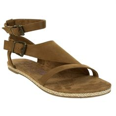 Blowfish Doris Cover-Up Sandal #VonMaur #Blowfish #Earth #Brown
