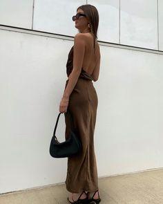 Supermodels, Backless, Brown, Skirts, Instagram, Tops, Dresses, Fashion, Vestidos