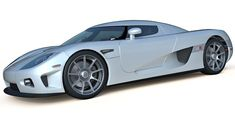 Koenigsegg CCX 3d model, highly detailed, UVW mapped parts and standard materials for 3ds max.
