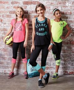 Crush the competition with athletic inspired outfits designed for top performance.