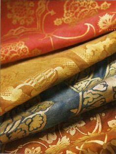 Fortuny silk damask