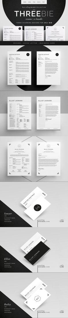 Resume/CV - Threebie Bundle 4 #ttf #ResumeTemplateDownload #diy #ResumeTips #BestResumeFormat #ResumeTemplateDesign #cvexamples #modern #resume #coverlettertemplate #ResumeTemplateDownload #businesscardtemplate #CvTemplate #curriculumvitae #cvtemplate #chart #creativeresumetemplate #ResumeDesign #msword Resume Help, Resume Tips, Resume Cv, Resume Design Template, Cv Template, Resume Templates, Stationery Templates, Stationery Design, Best Resume Format