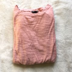 ⚡️FLASH SALE TODAY⚡️H&M Pink Long Sleeve Top Only worn once- like new, super comfortable pink long sleeve top! H&M Tops Tees - Long Sleeve