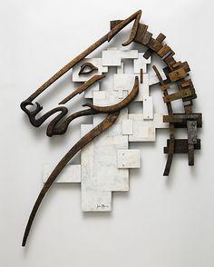 Sculpture by John Morris