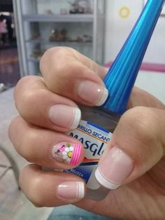 Uñas mias Cute Pedicures, Cute Nails, My Nails, Cute Pedicure Designs, Flower Nail Designs, Vacation Nails, Best Acrylic Nails, Flower Nails, Nail File