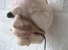 Soft nylon sculptures by Rosa Verloop