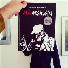 Moi, assassin - Altarriba et Keko, ed. Denoël @editionsdenoel #denoel #denoelgraphic #livre #librairie #gwalarn #gwalarnlibrairie