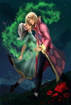 Love spell- Howl and Sophie by Alimac.deviantart.com on @deviantART