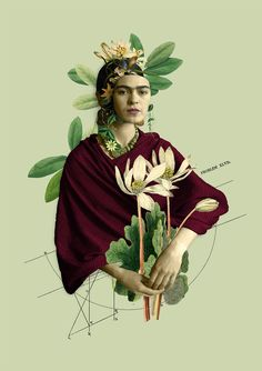 Frida Kahlo collage