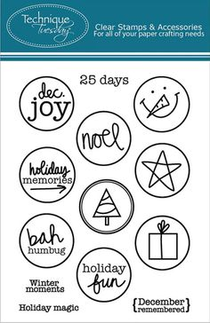 DECEMBER 2014 Scrap-Room.com Stamp Club Add-On (featured at scrapclubs.com)
