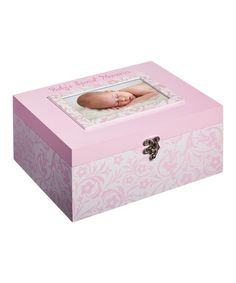 Look what I found on #zulily! Pink Photo Memory Box by Blossoms & Buds #zulilyfinds