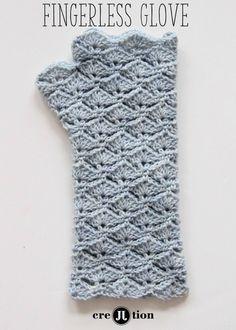 Free Pattern Crochet Fingerless Gloves