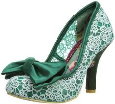 Irregular Choice Womens Mal E Bow Court Shoes: Amazon.co.uk: Shoes & Bags