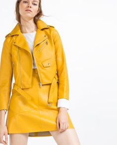 FAUX LEATHER JACKET-View All-OUTERWEAR-WOMAN | ZARA United States