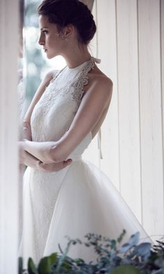 Gorgeous wedding dresses from the 2014 bridal collection of Aussie designer Karen Willis Holmes Wedding Dresses 2014, Stunning Wedding Dresses, Designer Wedding Dresses, Wedding Attire, Bridal Dresses, Wedding Gowns, Karen Willis Holmes, Fancy Gowns, Mod Wedding