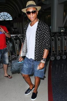 Celebrity Look for Le$$: Pharrell Williams