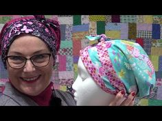Thank you for all the great questions and comments about last week's Scrub Cap video :) let's answer them while making a Child-size Cap. Here is the video ht. Japanese Sewing Patterns, Sewing Patterns Free, Free Sewing, Free Pattern, Fabric Crafts, Sewing Crafts, Sewing Projects, Fun Projects, Scrub Hat Patterns