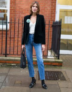 The Front Row View: Alexa Chung's London Fashion Week Street Style