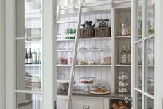The evolution of the pantry - moving on from Victorian times to look at some current examples of how this simple approach to storage is making a comeback.