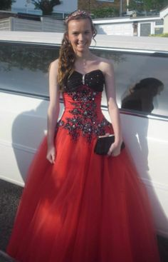 Amy wearing Phoenix gowns 2012