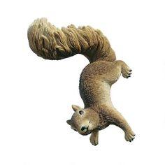 Simone, the Squirrel Hanging Sculpture