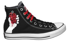 fc5f20783df6 Converse All Stars Chuck Taylor Green Day American Idiot -The middle school  Rachel would have passed out.