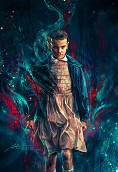 Stranger Things Illustrations - Created by Alice X .Zhang