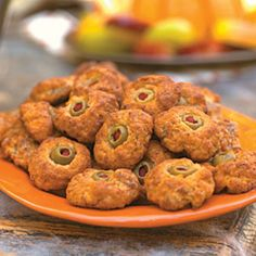 four simple ingredients—baking mix, sausage, cheese, and pimento ...