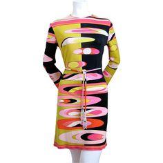 Pantsuit Emilio Pucci- 1960s 1stdibs.com (OMG that dress ...