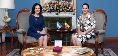 Primera Dama destaca en su visita a Ecuador los proyecto de Ciudad Mujer y Honduras Actívate - Radio HRN