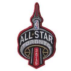 2016 NBA All Star Game Patch in Toronto Raptors Canada Jersey Patch