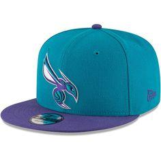 Men s Charlotte Hornets New Era Teal Purple 2-Tone 9FIFTY Adjustable  Snapback Hat 5a3374dcdcc8
