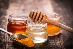 miel y cúrcuma