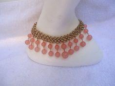 Vintage Light Pink Rounds Beads by GrannysInspirations on Etsy, $19.99