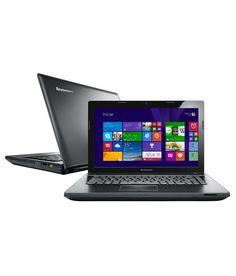 Lenovo Essential G405 Laptop (59-415701) (AMD APU A4- 2GB RAM- 500GB HDD- 35.56cm (14)- DOS- 256 MB Graphics) (Black)