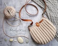 Visit the site for details. Crochet Handbags, Crochet Purses, Crochet Bags, Crochet Bag Tutorials, Crochet For Beginners, Love Crochet, Diy Crochet, Crochet Shoulder Bags, Crochet Headband Pattern