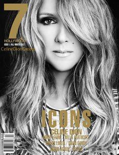 Celine Dion 7 Hollywood Magazine Cover Fall/Winter 2012 soooo beautiful