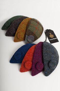 Harris Tweed Fascinators Autumn/Winter 2012 By Miss Kitty Hats  http://www.misskittyhats.co.uk/index.html