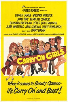 Extra Large Movie Poster Image for Carry on Girls